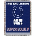 "Indianapolis Colts NFL ""Commemorative"" 48"" x 60"" Tapestry Throw"