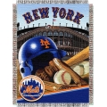 "New York Mets MLB ""Home Field Advantage"" 48"" x 60"" Tapestry Throw"