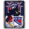 "New York Rangers NHL Style ""Home Ice Advantage"" 48"" x 60"" Tapestry Throw"