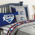 San Diego Padres  Authentic Team Jersey Pillow Sham