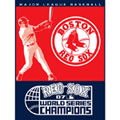 "Boston Red Sox 60"" x 80"" 2007 World Series Blanket"