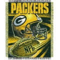 "Green Bay Packers NFL ""Spiral"" 48"" x 60"" Triple Woven Jacquard Throw"