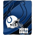 "Indianapolis Colts NFL Micro Raschel Blanket 50"" x 60"""